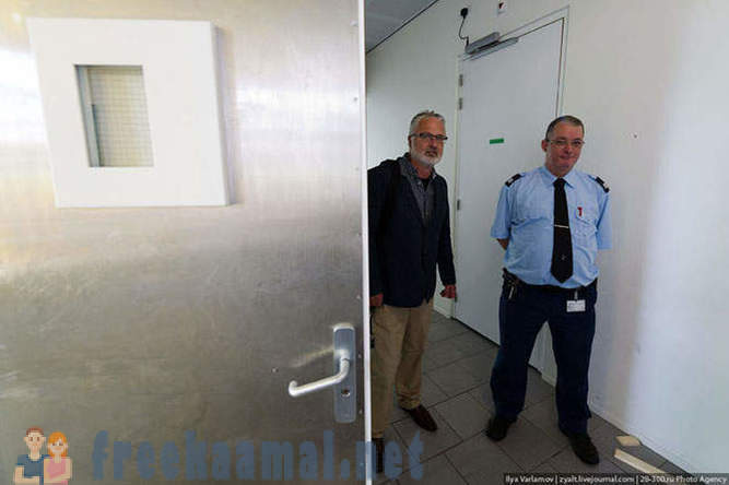 Tour of the comfortable Dutch prison