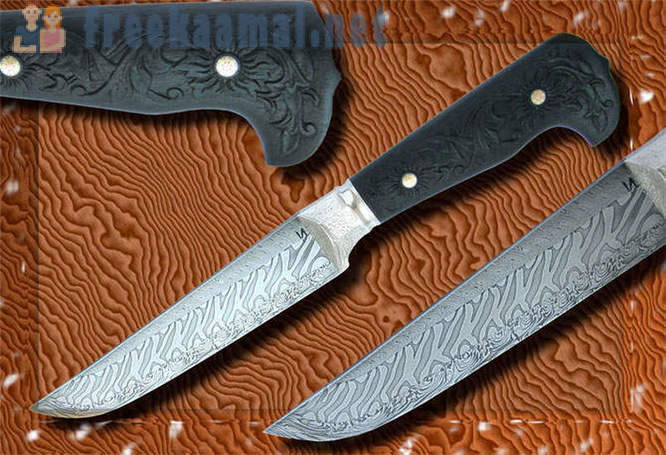 How do damask knives